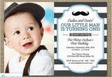 Little Man First Birthday Invitations Little Man Invitation Mustache Invitation First Birthday