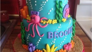 Little Mermaid Birthday Cake Decorations Best 25 Mermaid Birthday Cakes Ideas On Pinterest