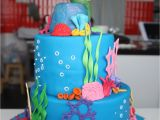 Little Mermaid Birthday Cake Decorations Cake Mermaid Best Collections Cake Recipe
