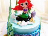 Little Mermaid Birthday Cake Decorations Fancy Mermaid Doll Cake toppers Party Decoration Birthday