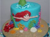 Little Mermaid Birthday Cake Decorations the Little Mermaid Cake and Cupcake tower Cakecentral Com
