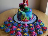 Little Mermaid Birthday Cake Decorations the Little Mermaid Cake and Cupcakes Cakecentral Com