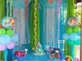 Little Mermaid Birthday Decoration Ideas Little Mermaid Birthday Party Ideas Photo 4 Of 13