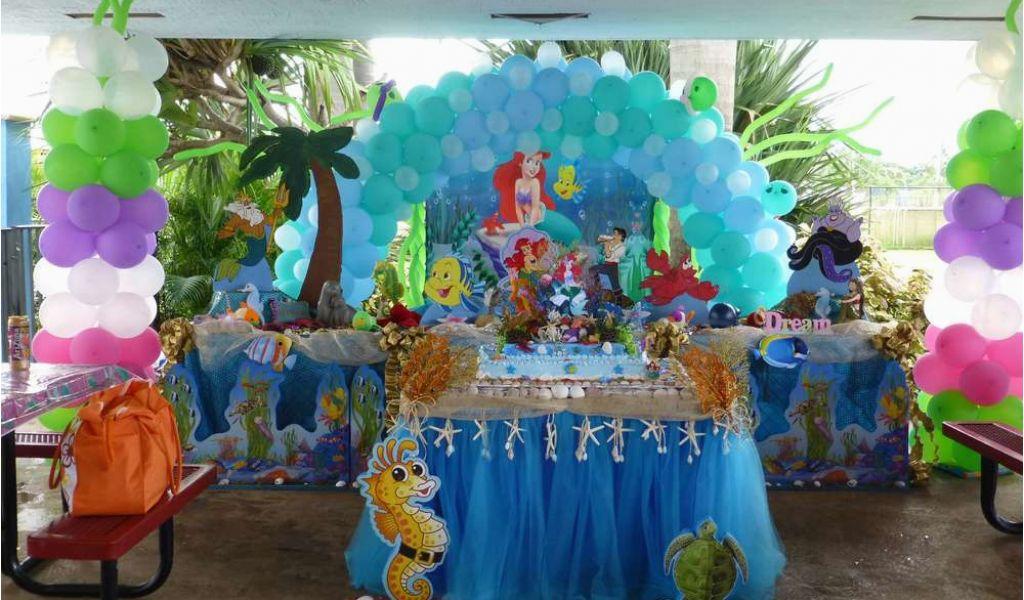 Download By SizeHandphone Tablet Desktop Original Size Back To Little Mermaid Birthday Decoration Ideas