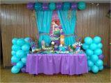 Little Mermaid Birthday Decoration Ideas the Little Mermaid Birthday Party Dessert Buffet Also