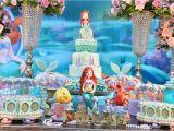 Little Mermaid Birthday Decoration Ideas the Little Mermaid Birthday Party Little Wish Parties