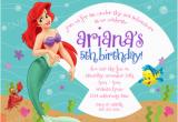 Little Mermaid Birthday Invitations Free Printables Free Little Mermaid Party Invitation