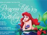 Little Mermaid Birthday Invitations Free Printables Free Printable Birthday Invitations Ariel Mermaid