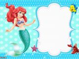 Little Mermaid Birthday Invitations Free Printables Updated Free Printable Ariel the Little Mermaid