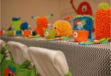 Little Monster Birthday Party Decorations Little Monster Birthday Party Guest Feature