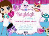Littlest Pet Shop Birthday Invitations Printable Free Kaitlinskardsnmore On Etsy