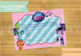 Littlest Pet Shop Birthday Invitations Printable Free Littlest Pet Shop Birthday Invitation Instant Download
