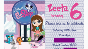 Littlest Pet Shop Birthday Invitations Printable Free Littlest Pet Shop Birthday Party Ideas Photo 1 Of 34