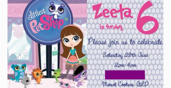 Littlest Pet Shop Birthday Invitations Printable Free Littlest Pet Shop Birthday Party Ideas Photo 1 Of 34