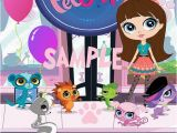 Littlest Pet Shop Birthday Invitations Printable Free Littlest Pet Shop Digital Invitation by Kidzcardzsa On