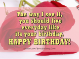 Live Happy Birthday Cards Birthday Cards the Way I See It You Should Images