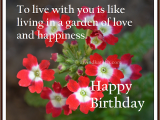 Live Happy Birthday Cards to Live with You is Like Happy Birthday Card with True