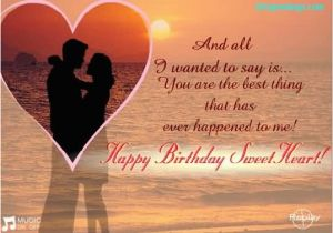 Love Birthday Card Messages For Her Romantic E Wishes Girlfriend Nicewishes