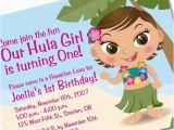Luau 1st Birthday Invitations Items Similar to Hawaiian Luau 1st Birthday Invitation