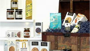Luxury 21st Birthday Presents for Him Large Luxury Vintage organic Food Chest Hamper Luxury