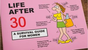 Luxury 30th Birthday Gifts for Him Martin Baxendales Life after 30 A Survival Guide for Women