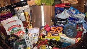 Luxury 50th Birthday Present Ideas for Him 50th Birthday Gift Basket for Him 50th Birthday Gift