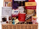 Luxury Birthday Ideas for Him 21st Luxury Birthday Hamper for Him