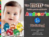 M M Birthday Party Invitations Chalkboard M M 39 S Chocolate Birthday Invitations