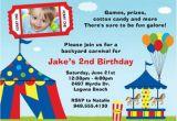 M M Birthday Party Invitations Colourful Carnival themed Birthday Party Margusriga Baby