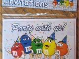 M M Birthday Party Invitations M M Birthday Invitations Flickr Photo Sharing