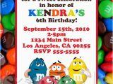 M M Birthday Party Invitations M M Party Invitations Oxsvitation Com
