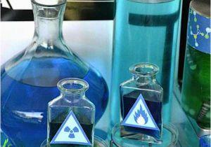 Mad Science Birthday Party Decorations Kara 39 S Party Ideas Mad Scientist Science Boy Girl Birthday