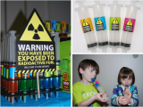 Mad Science Birthday Party Decorations Science Party Ideas Birthday Party Ideas themes
