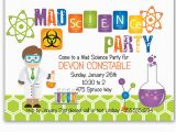 Mad Scientist Birthday Invitations Mad Scientist Party Invitations Cimvitation