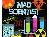 Mad Scientist Birthday Invitations Vanilla Essence Mad Scientist Party