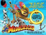 Madagascar Birthday Invitations Madagascar 3 Invitation Madagascar Party Madagascar