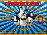 Madagascar Birthday Invitations Madagascar Birthday Invitations Kustom Kreations