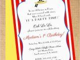 Madeline Birthday Party Invitations Madeline Birthday Shower Invitation Printable
