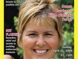 Magazine Cover Birthday Invitations Birthday Hot Flash Magazine Cover Invitation