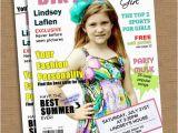 Magazine Cover Birthday Invitations Items Similar to Magazine Cover Birthday Invitation On Etsy