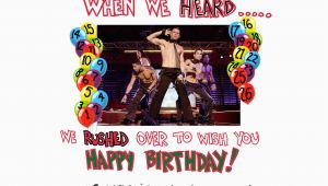 Magic Mike Birthday Card Magic Mike Birthday Cake Idea 71852 Magic Mike Birthday Ma