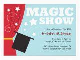 Magic Show Birthday Invitations Magical Birthday Quotes Quotesgram