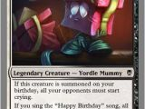 Magic the Gathering Birthday Card Custom Magic the Gathering Cards by Leagueofdevack On