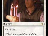 Magic the Gathering Birthday Card Happy Birthday Msw1