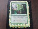 Magic the Gathering Birthday Card Magic the Gathering Birthday Cake Elemental Flickr