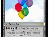 Magic the Gathering Birthday Card Magic the Gathering Meysonyounger Submitted so It Was