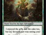 Magic the Gathering Birthday Card Novel Concept Designs Magic the Gathering Card Game