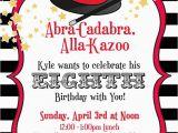 Magic themed Birthday Invitations Magic Birthday Party Ideas Photo 3 Of 15 Catch My Party