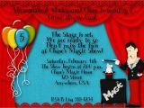 Magic themed Birthday Invitations Magic Birthday Party Invitation by Decidedlydigital On