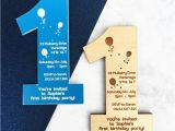 Magnet Birthday Invitations 1st Birthday Party Invitation Magnet by Batemandesigns